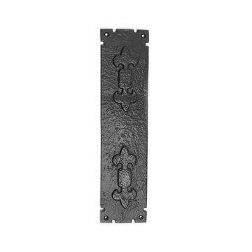 Restorers Fleur-De-Lis Push Plate