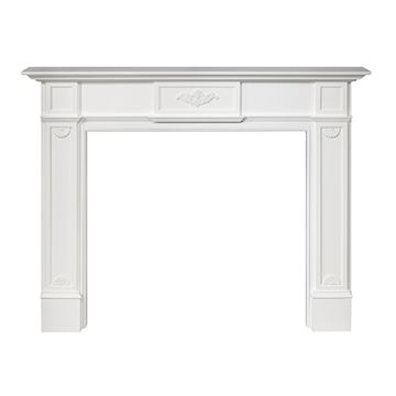 WHITE PRIMED MONTICELLO MANTEL