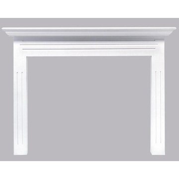 48NEWPORT PRIMED WHT MANTEL   *DS PPD*