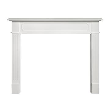 48BERKLEY PRIMED WHT MANTEL  *DS PPD*