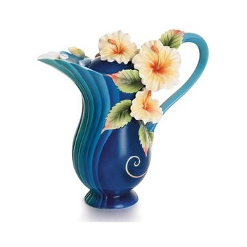TROPICAL BEAUTY HIBISCUS TEAPOT *DS*