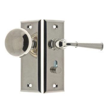 KNOB TO LEVER SCREEN DOOR LATCH