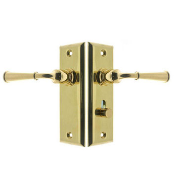 LEVER TO LEVER SCREEN DOOR LATCH