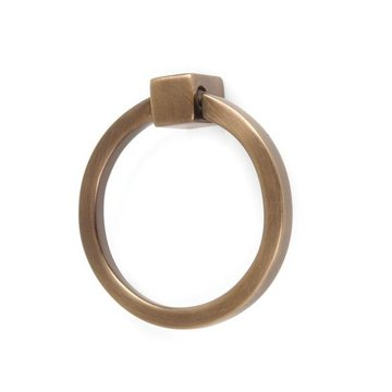Brass Ring Pull - 3 Inch