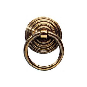 Armac Solid Brass Ring Pull