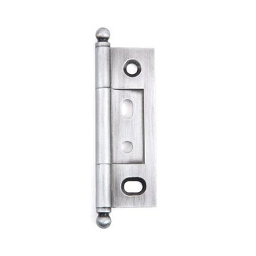 2 1/2 NON MORTISE HINGE WITH BALL FINIAL