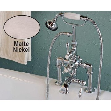 DECK MOUNT THERMOSTATIC TUB FAUCET