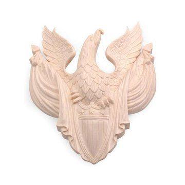 Legacy Signature Eagle  And Flag Applique