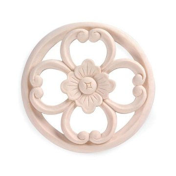 Legacy Signature 5 Inch Round Art Nouveau Applique
