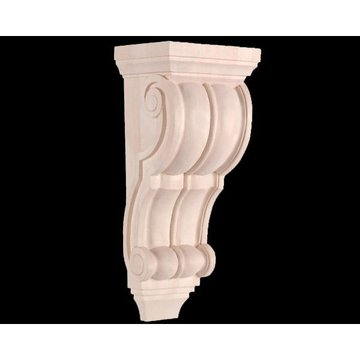 Legacy Signature 14 Inch Scroll  And Bead Corbel