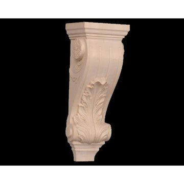Legacy Signature 18 1/2 Inch Acanthus And Flower Corbel