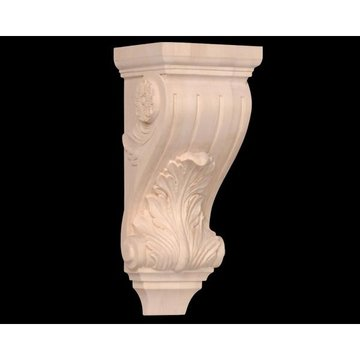 Legacy Signature 14 Inch Acanthus And Flower Corbel