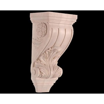 Legacy Signature 10 1/2 Inch Acanthus And Flower Corbel