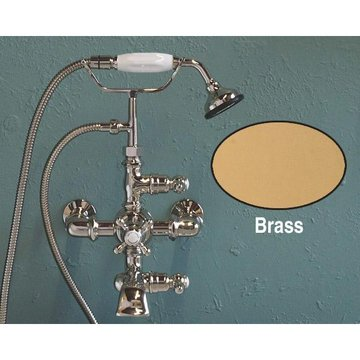 WALL MOUNT THERMOSTATIC TELEPHONE TUB FAUCET