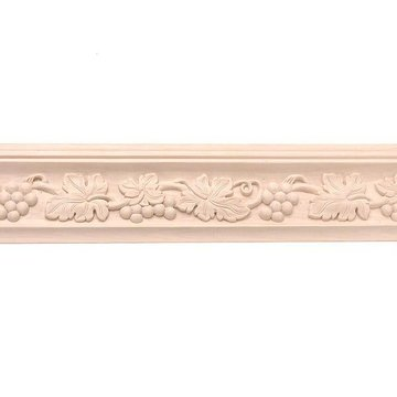 8 X 4 5/8 GRAPE CROWN MOLDING