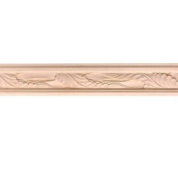 8 X 3 3/16 ACANTHUS CHAIR RAIL MOLDING