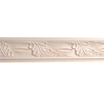 8 X 4 5/8 ACANTHUS CROWN MOLDING