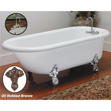5 MONARCH CLAWFOOT TUB