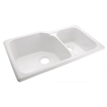 33WHITE ARIELLE KITCHEN SINK *DS*