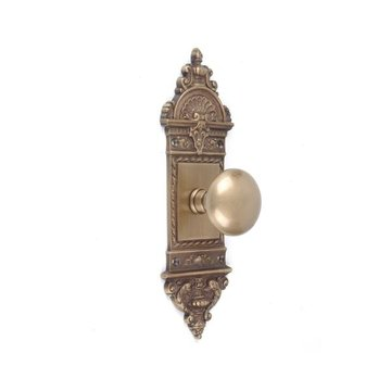 Brass Accents LEnfant Dummy Door Set With Glass Knob