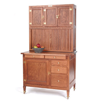 HOOSIER BEAUTY CABINET KIT WITH WOOD TOP