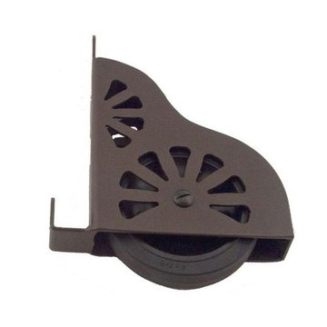 Library Ladder Bottom Wheel Assembly With Brake