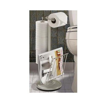 ROUND BASE TOILET PAPER HOLDER