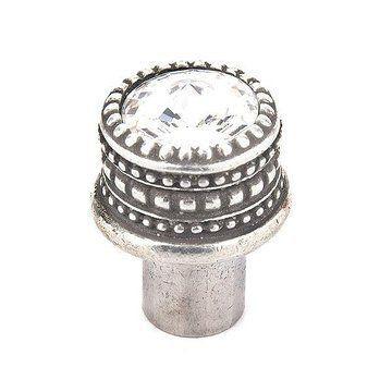 Carpe Diem Cache #863 Swarovski Crystal Round Knob