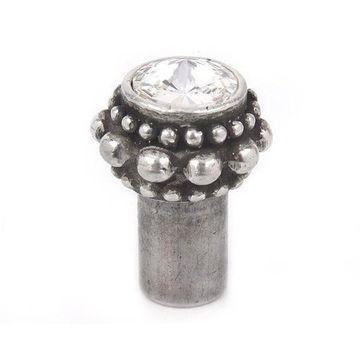 Carpe Diem Cache #865 Swarovski Crystal Round Knob