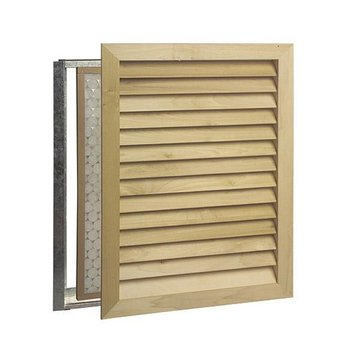 Worth Home Architectural Luxury Return Air Grille - Stainable