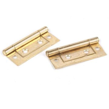 POL BRASS NON-MORTISE HINGE