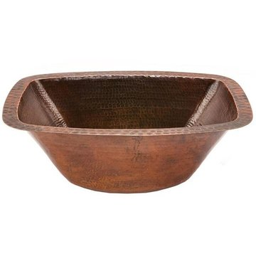Premier Copper Rectangular Copper Sink