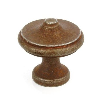 ANTIQUE RUST IRON KNOB