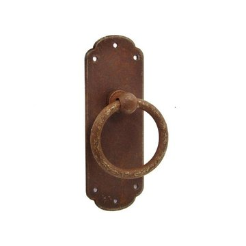Classic Hardware 3 3/16 Inch Rust Ring Pull