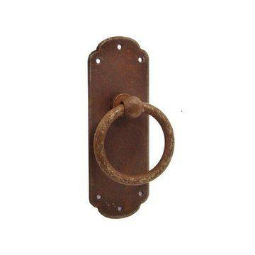 Marella 3 3/16 Inch Rust Ring Pull