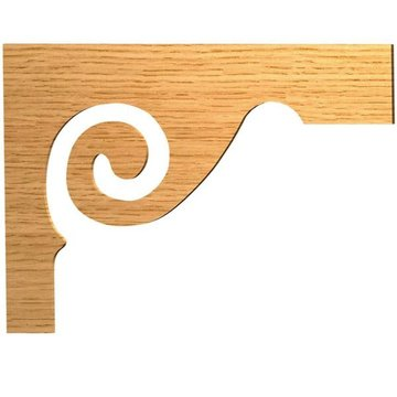 SCROLL STAIR TREAD BRACKET