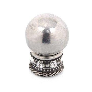 Carpe Diem Cache #895 Round Knob With Swarovski Crystal Sleeve