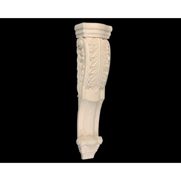 34 ACANTHUS LEAF LOW PROFILE CORBEL
