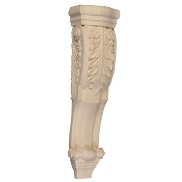 Legacy Signature 28 Inch Acanthus Leaf Low Profile Corbel
