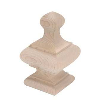 5 7/8 Inch Square Ball Top Finial