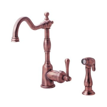 SINGLE HANDLE FAUCET WITH SPRAY