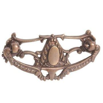 Restorers Antique Brass Victorian Bail Pull