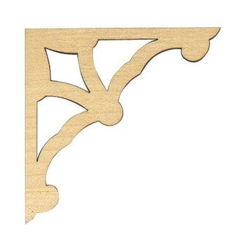 FRETWORK CORNER BRACKET