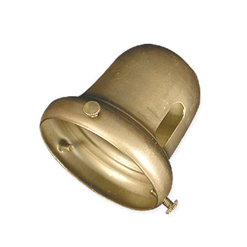 LAMP SOCKET BELL-BRASS