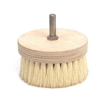ROUND PINE POLISHING BRUSH 4 DIAMETER