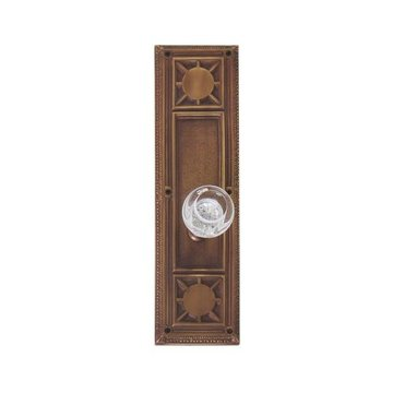 Brass Accents 10 1/4 Inch Nantucket Door Set