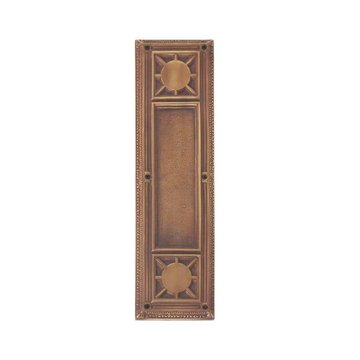 Brass Accents 13 7/8 Inch Nantucket Push/Pull Plates