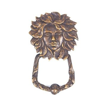 ANTQ BRASS FACE DOOR KNOCKER