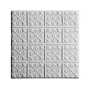 Fleur-De-Lis Ceiling Tile