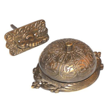 Restorers Victorian Mechanical Twist Door Bell